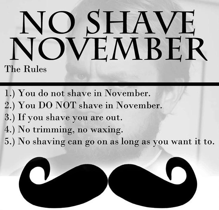 No Shave Novembr A History